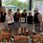 Girls Varsity Golf finishes 2nd place at Kensington!
