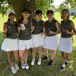Girls Golf finishes 2nd place at JV Tournament