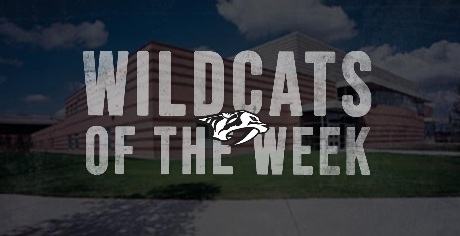 Wildcats of the Week (11/4/19 – 11/10/19)