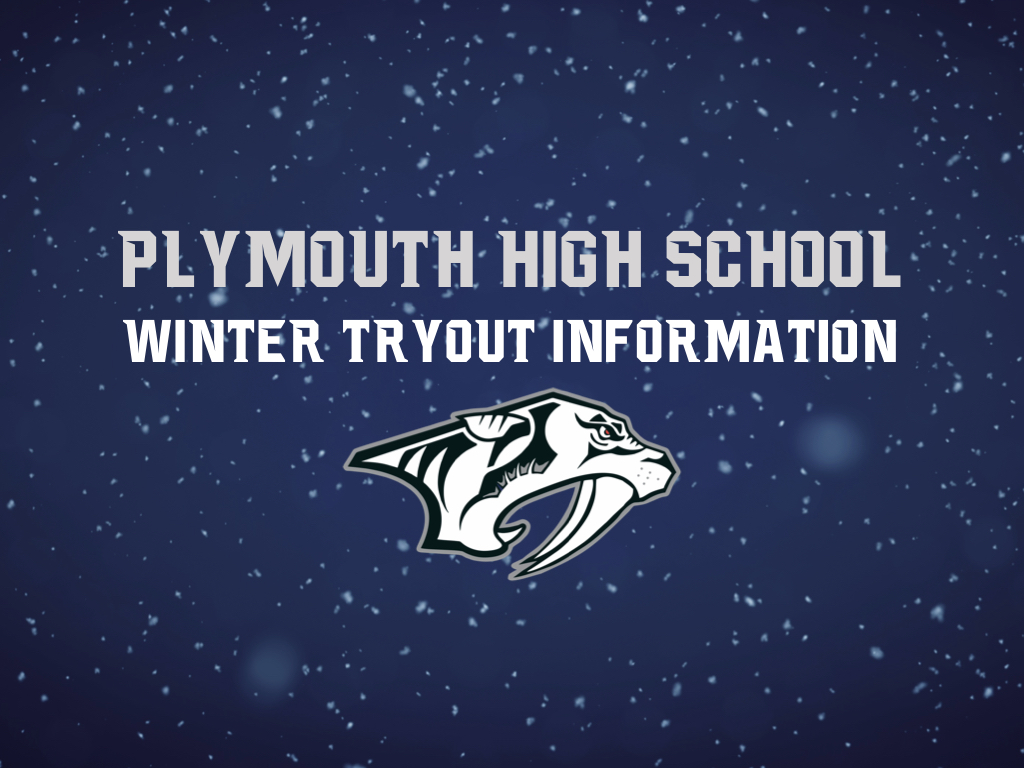 Plymouth Athletics 2020-2021 Winter Tryout Information