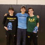 Three Boys Wildcat XC Alum Race at GLIAC Championships