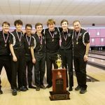 Boys Varsity Bowling wins Hochstein Memorial Tournament