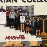 Mallory Floreno, Now 2x All-State, Places 5th at the MWA Girl's Wrestling State Championship.