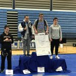 Plymouth Wrestling's, Spencer Vos, Qualifies for Regional