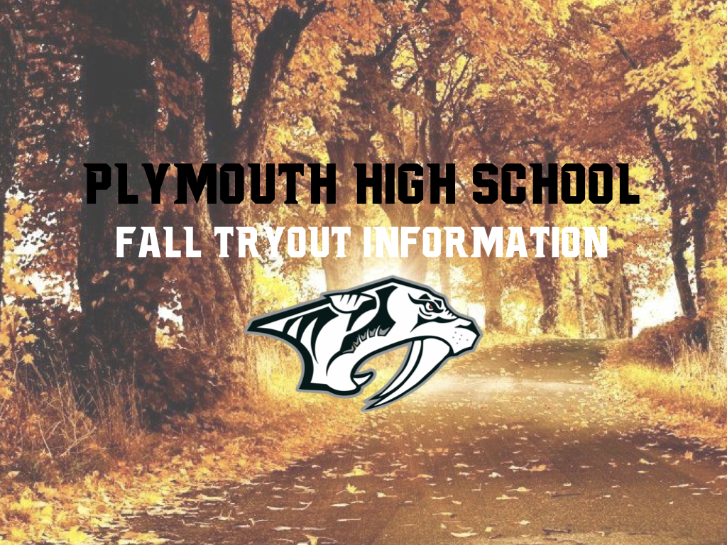 Fall 2020 Tryout Information