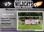PHS Girls Soccer Tryouts