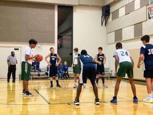 Jr. High Boy's Basketball Vs. Greenwood Christian (11/16/20)