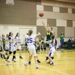 Girls Junior High Basketball beats King's Academy 39 – 10