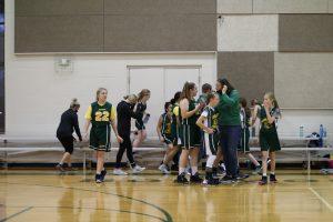 Jr. High Girls Basketball vs. Kings Academy 12/1