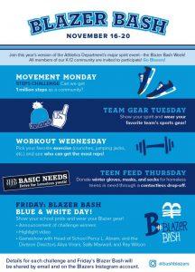 2020-21 Blazer Bash Week