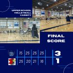 Blazers Varsity Volleyball beats Crosstown Rival Seattle Academy 3 – 1
