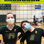 Owls top Kings for first time in Overlake Volleyball history!