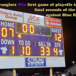 Wranglers Score in Final Seconds to Get Playoff Win