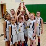 4th Grade Lady Titans win the GCBL