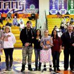 Titans Send Seniors Out With 59-37 Win Over Saint Joseph Academy