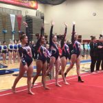 Girls Varsity Gymnastics finishes 8th place at Rock n Roll Invitational