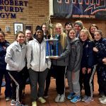 Girls Track and Field Finish Third at Maralyn H. West Invitational