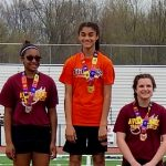 Three Titans Win Titles at SWC Junior High Track and Field Championship Meet