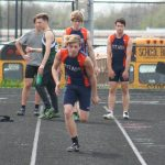 Track Meet at Parma on May 4, 2018
