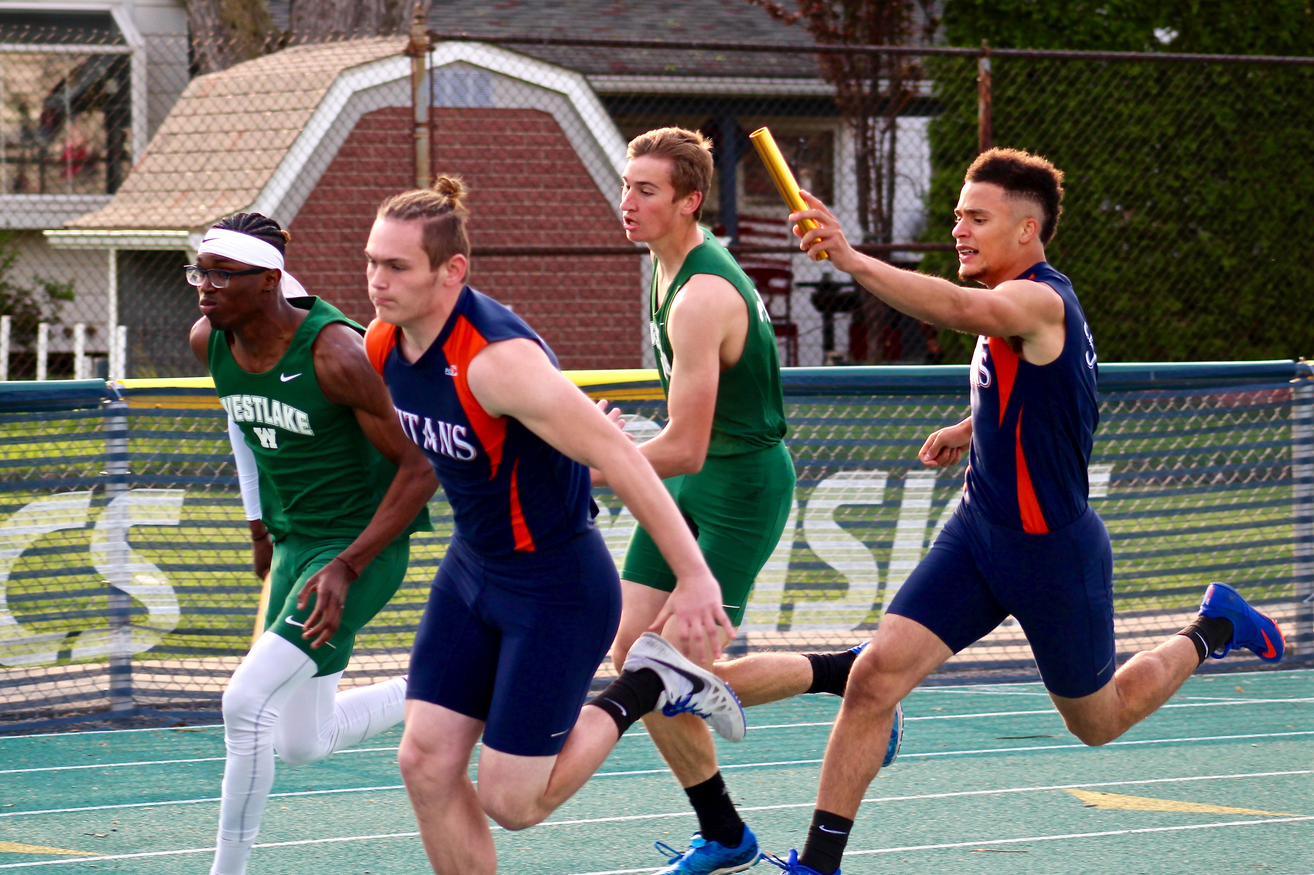 Seven Titans Win Titles; Boys and Girls Track and Field Each Finish Third at SWC