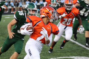 2018 Football Game 1 at Strongsville Aug 26