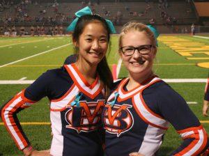 2018 Cheerleaders Football Game 4 vs North Ridgeville, Sept 14
