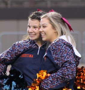 2018 Sideline Cheerleaders, Football vs Olmsted Falls, 05Oct