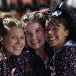 2018 Cheerleaders Football Game 9 vs North Olmsted, 19 October