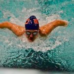 Girls Swimming Falls in Close Battle with Lakewood