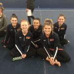 Girls Varsity Gymnastics finishes 3rd place at Avon, Westlake & North Royalton