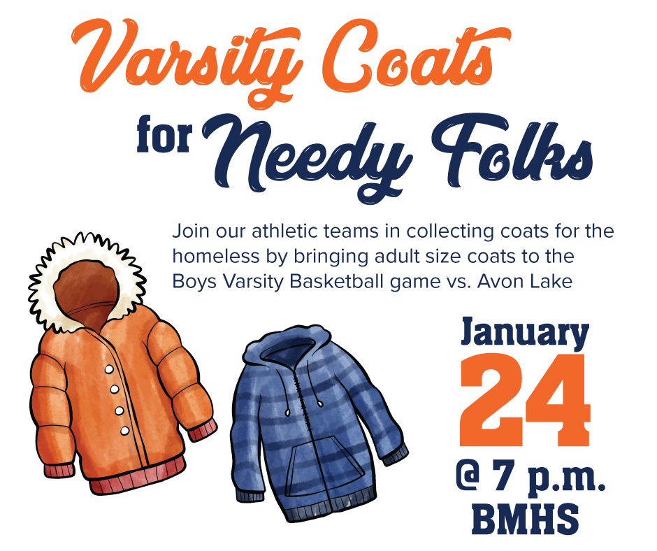 Titans to Host Coat Drive During Avon Lake Basketball Game On January 24