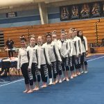 Girls Varsity Gymnastics finishes 3rd place at Magnificat, Brecksville, Lakewood