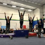 Gymnastics finishes 2nd place at SWC Championship – Marissa Jones wins the All Around