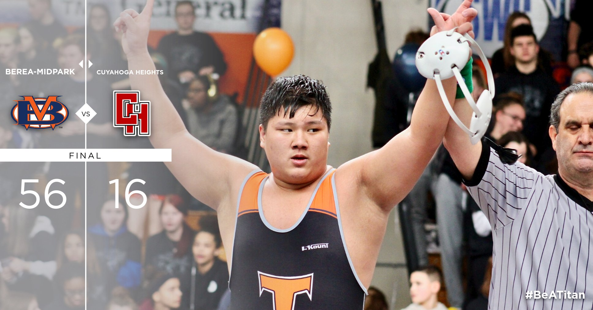 Titans Down Cuyahoga Heights in Third Annual Dual in the School