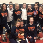 BMHS Gymnastics Team Qualifies to States
