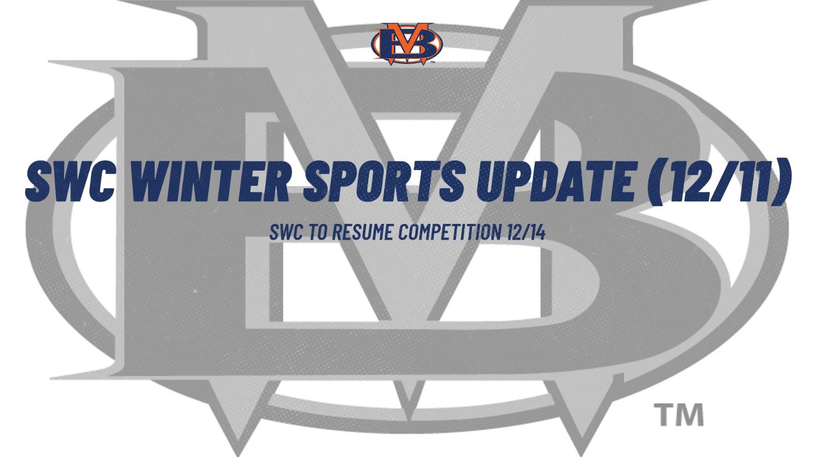SWC Winter Sports Update (12/11)