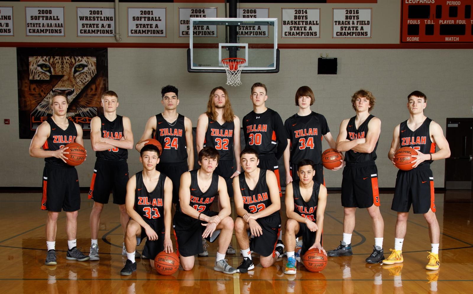 Boys Basketball Team Photos