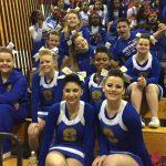 Bulldog Cheerleaders finish strong!