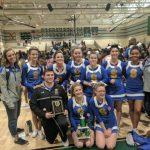 Cheerleaders capture the spirit award!