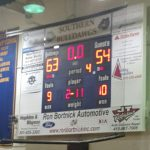 Southern High School Boys Varsity Basketball beat North County High School 63-54