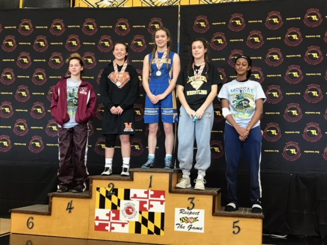 Knapp finishes 3rd at girls only Wrestling Tournament