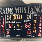 Boys Varsity Basketball falls to Meade 72 – 62