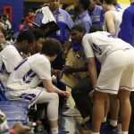 Boys Varsity Basketball end the regular season with a loss to Old Mill 64 – 44