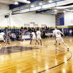 Boys Varsity Basketball beats Patuxent 77 – 62