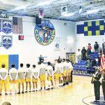 Boys Varsity Basketball ended their playoff run to Thomas Stone 70 – 55
