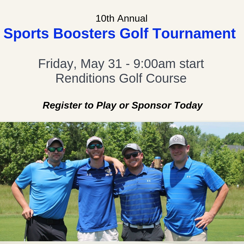 10th Annual Sports Boosters Golf Tournament