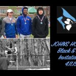 Track & Field finishes 11th place at Johns Hopkins Black & Blue Invitational #StrengthHonorSuccess