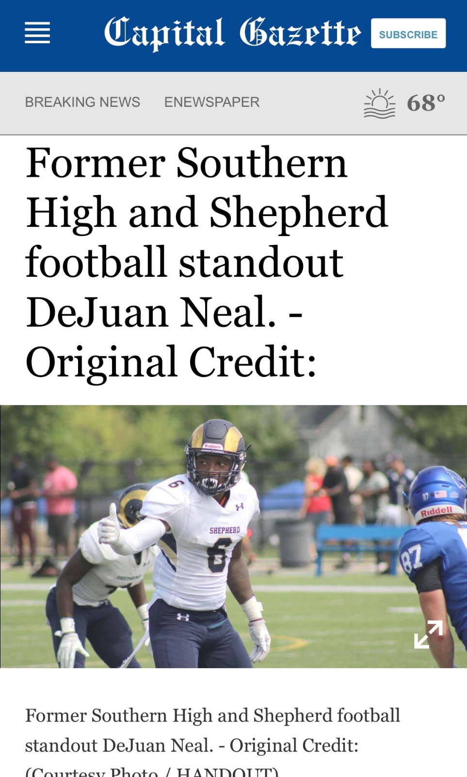 DeJuan Neal headed to the NFL!