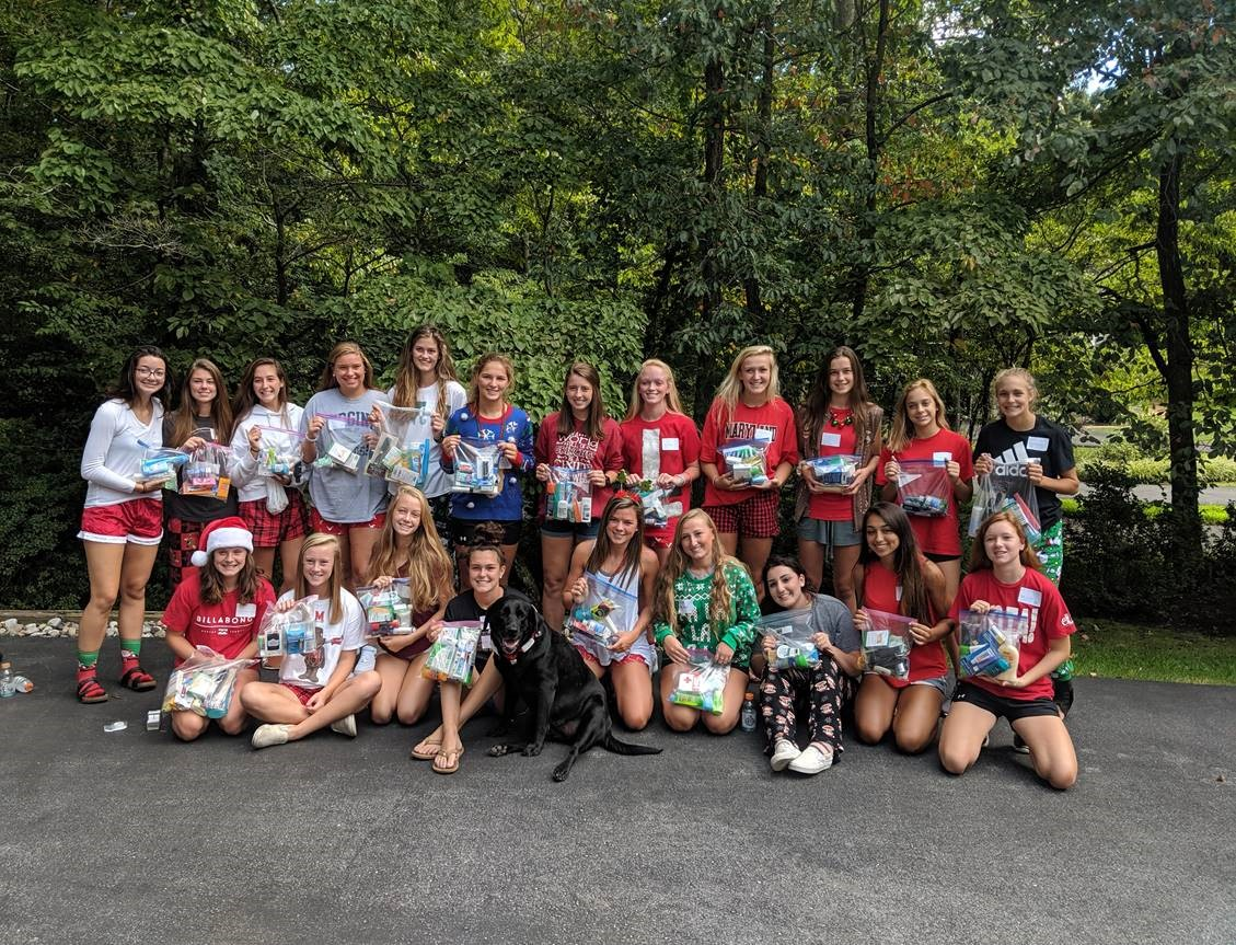 Girls Soccer Service Project
