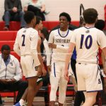 Boys Varsity Basketball beats Patuxent 70 – 21 #PatriotsHolidayClassic